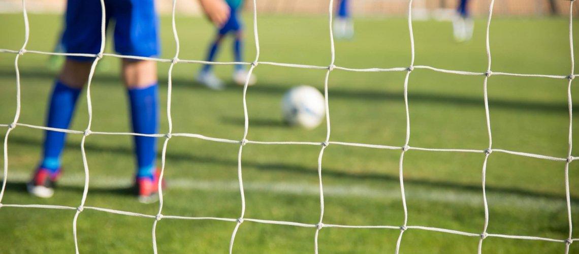 Netz Fußball Ball